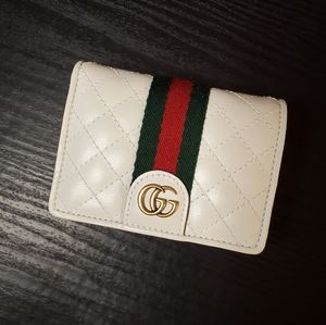 Gucci Double G Leather Card Case